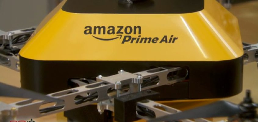 Solved in 60 sec: Amazon Drone Conspiracy