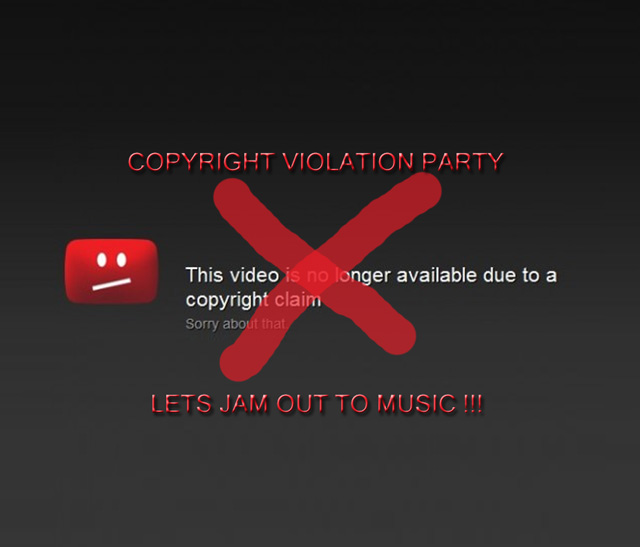 Radio Citrus #4 (2009): Copyright violation party