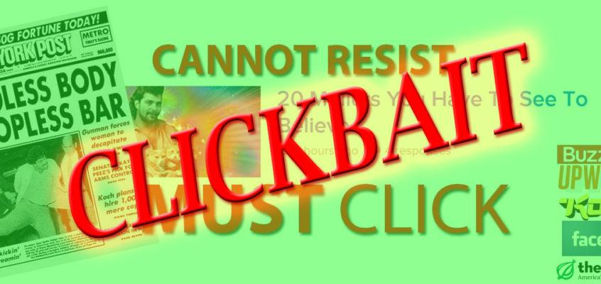 Radio Citrus #21: You won't believe 8 ways clickbait manipulates you